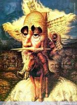 Don Quijote by Octavio Ocampo