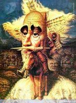 Don Quijote by Octavio Ocampo