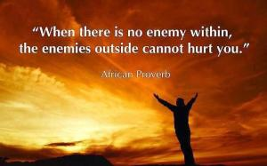 enemy proverb