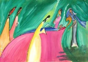 Painting by Prof. M. M. Ninan