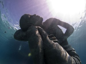 underwater with god