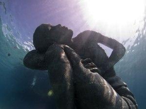 underwater with god