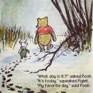 pooh-contentment